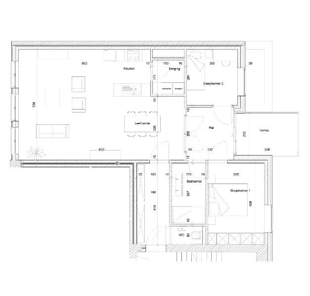 Typeplan De Jonker - 2 slaapkamers