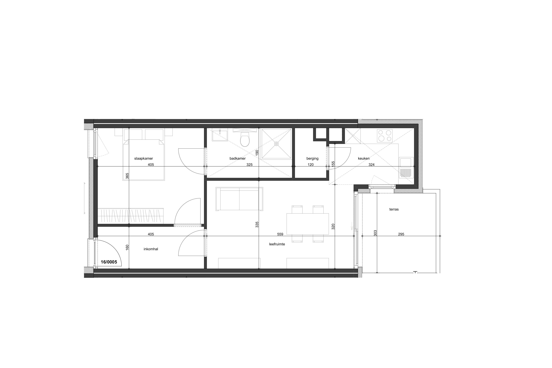 1 slaapkamer Comfort+ appartementen