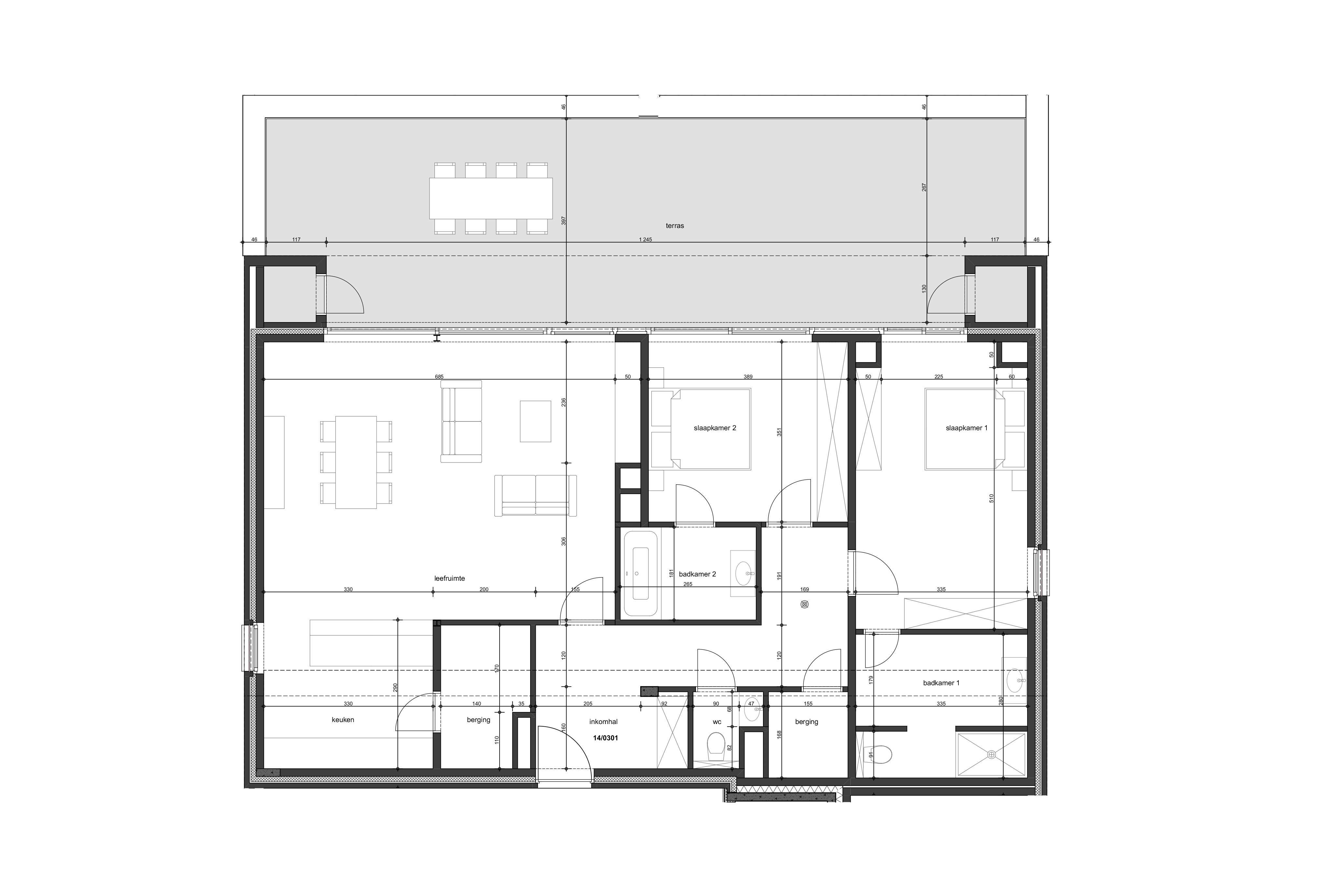 Penthouse appartementen