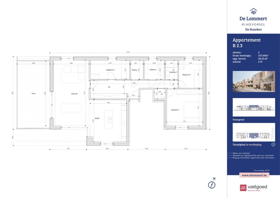 De Rozekes - Penthouse 3 slaapkamers