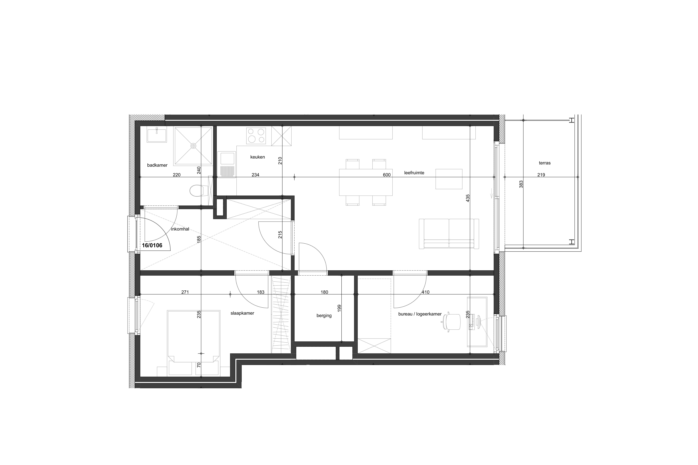 2 slaapkamers Comfort+ appartementen